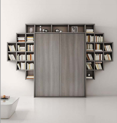 Awesome Armadio Letto Con Libreria