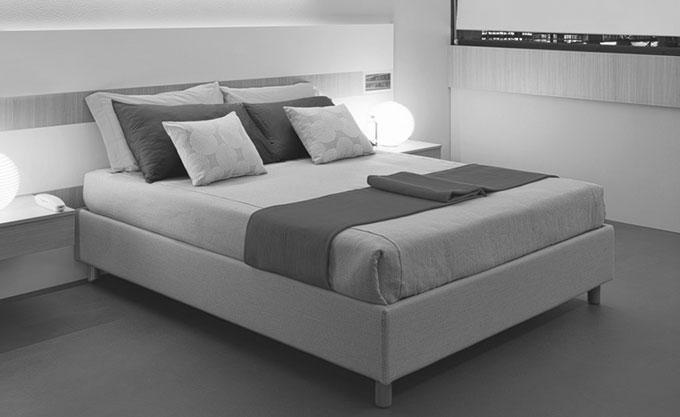 letto-imbottito-verona-modello36bn - Formaflex Materassi Verona