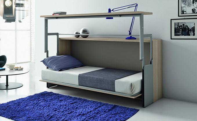 letto-a-scomparsa-verona-aperto-modello24 - Formaflex Materassi Verona