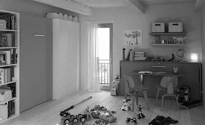 letto-a-scomparsa-verona-chiuso-modello34 - Formaflex Materassi Verona
