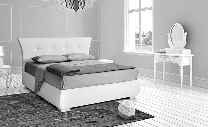 letto-imbottito-verona-modello78bn - Formaflex Materassi Verona
