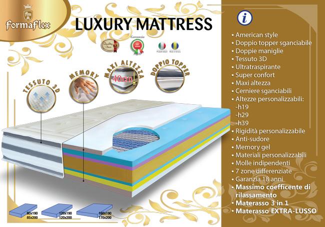 Luxury Mattress - materasso stile americano, altissimo!