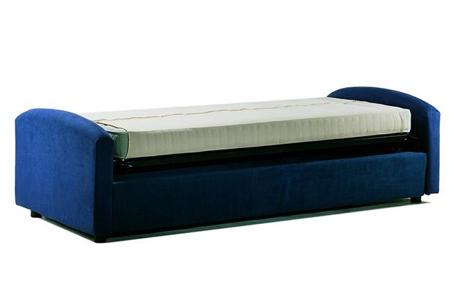 Divano letto aperto fab11 formaflex materassi verona - Divano letto aperto ...