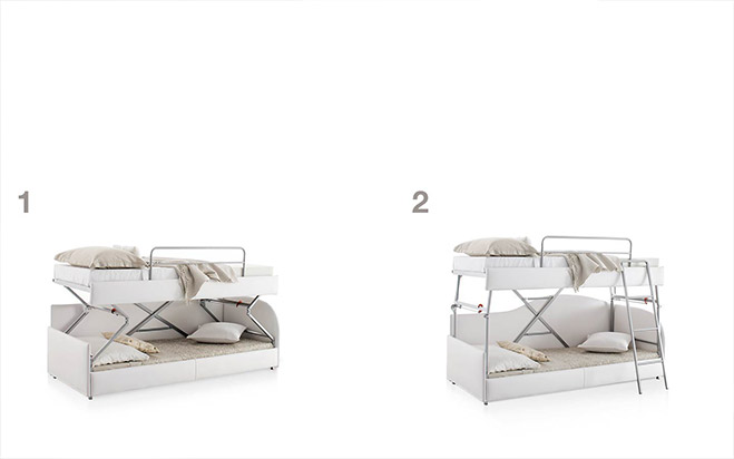 Divano letto aperto fab2 formaflex materassi verona - Divano letto verona ...