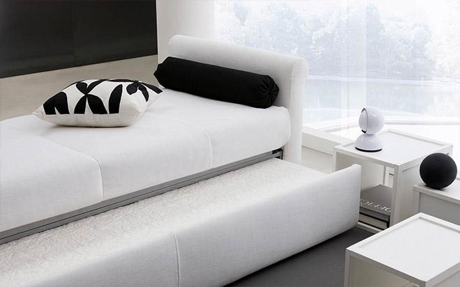 Divano letto aperto fab5 formaflex materassi verona - Divano letto aperto ...