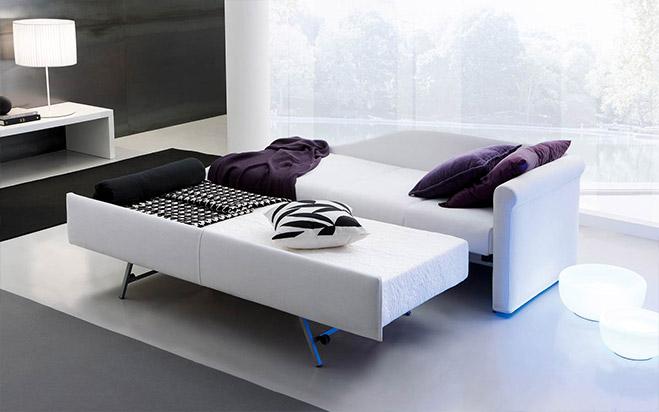 Divano letto aperto fab6 formaflex materassi verona - Divano letto verona ...