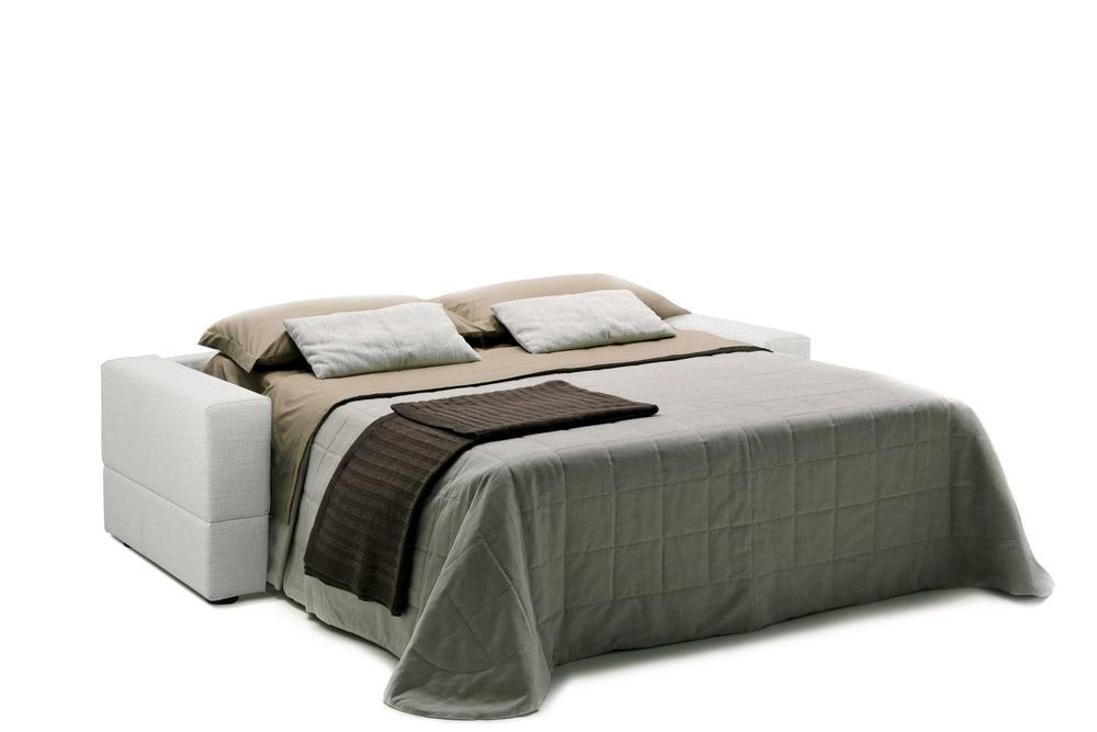 Divano letto brian aperto formaflex materassi verona - Divano letto aperto ...