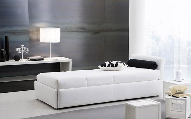 Divano letto chiuso fab5 formaflex materassi verona - Divano letto verona ...