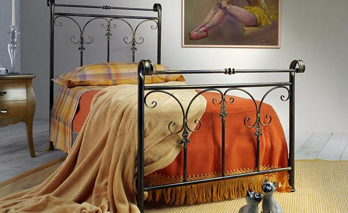 letto-ferro-battuto-verona-modello136