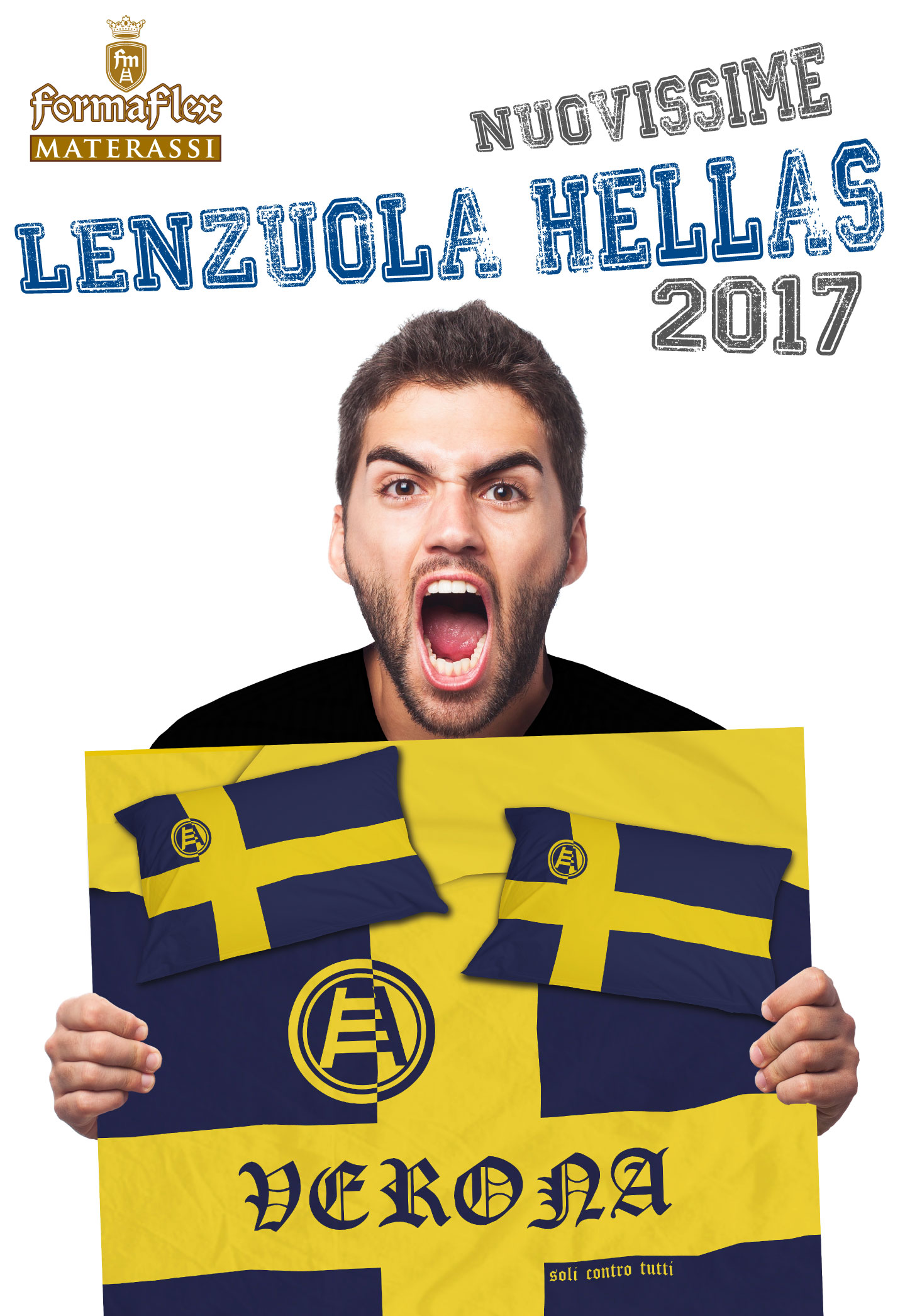 Nuovissime lenzuola Hellas Verona disponibili.